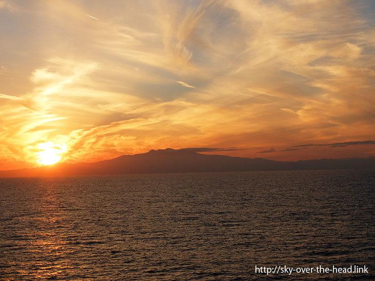 太平洋日本沿岸(静岡県付近)/Pacific Ocean(Japan)