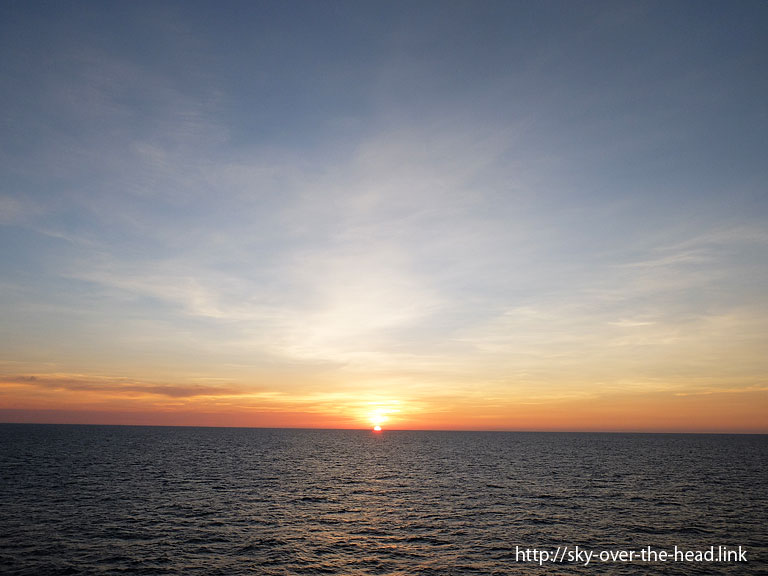 太平洋(東南アジア近海)/Pacific Ocean(Southeast Asia waters)