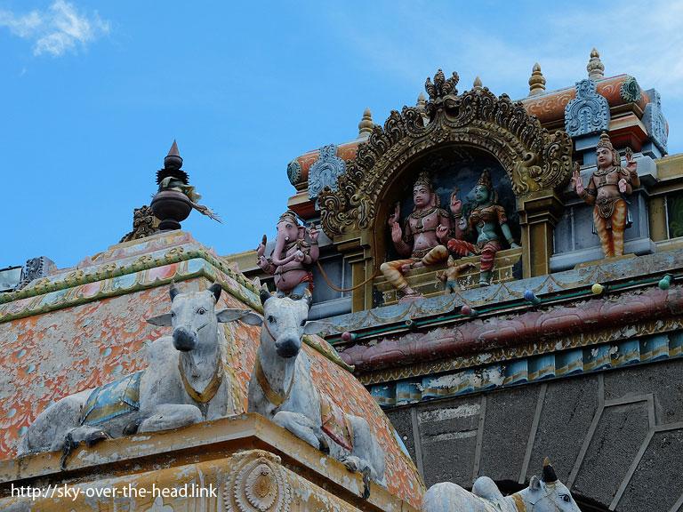 ケーラソン・タミール寺院/ポートルイス港(モーリシャス)/Port Louis Port