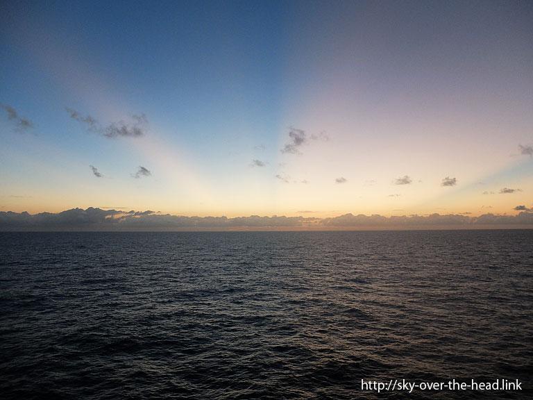 カリビアンオーロラ|南大西洋07(アフリカ大陸から南アメリカ大陸へ航海中)/South Atlantic(from Africa to South America)