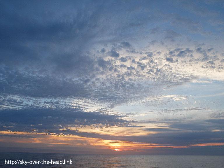 夕暮れ|南大西洋08(アフリカ大陸から南アメリカ大陸へ航海中)/South Atlantic(from Africa to South America)