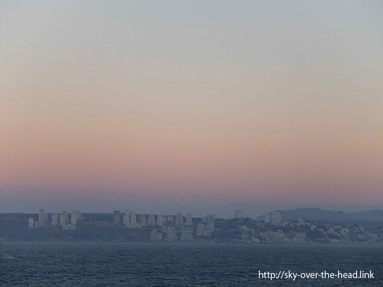 バルパライソ(チリ)/Valparaiso(Chile)の夕暮れ