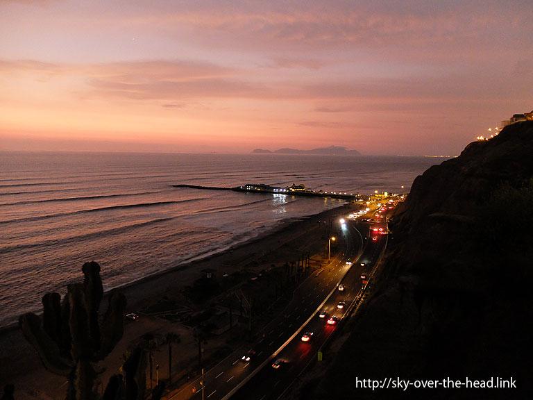 夜景|リマ(ペルー)/Lima (Peru)