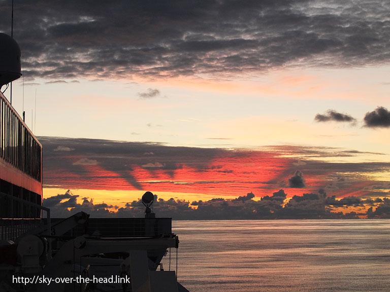 夕暮れ|太平洋(ラパ・ヌイ付近)/Pacific Ocean (near the Rapa Nui)
