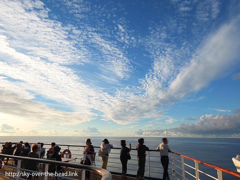 鳥のような雲|太平洋(ラパ・ヌイ付近)/Pacific Ocean (near the Rapa Nui)