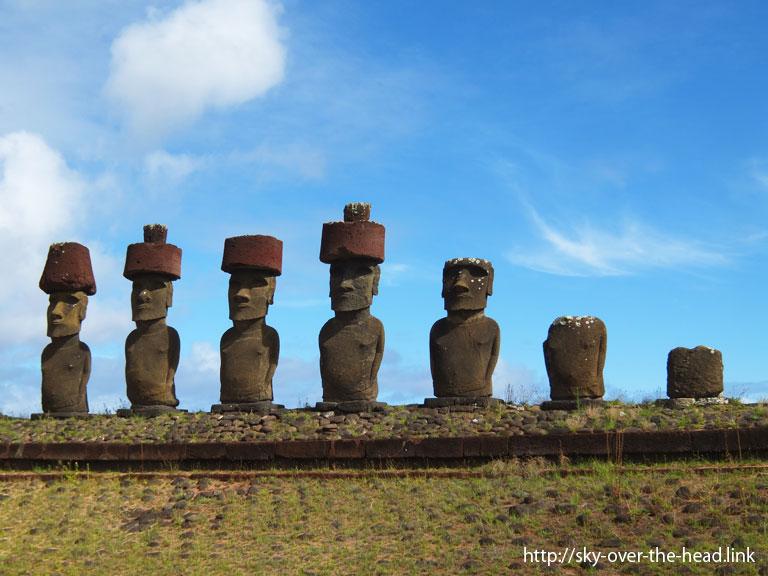 モアイ|ラパ・ヌイ島(チリ)/Rapa Nui Island (Chile)