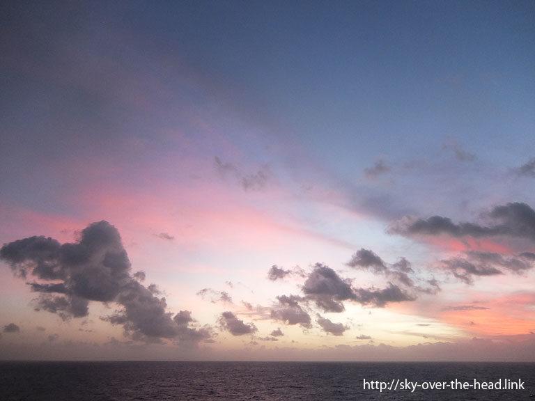 夕暮れ(南太平洋06)/Dusk (South Pacific 06)