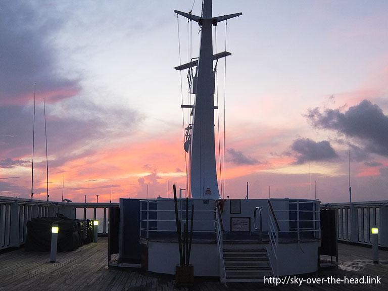 夕焼け(南太平洋07)/Sunset(South Pacific 07)