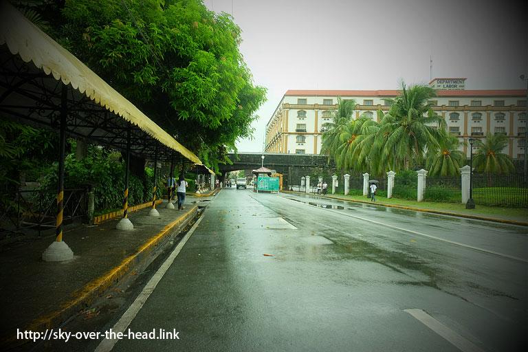 イントラムロスの入口(フィリピン)/Intramuros(Philippines)