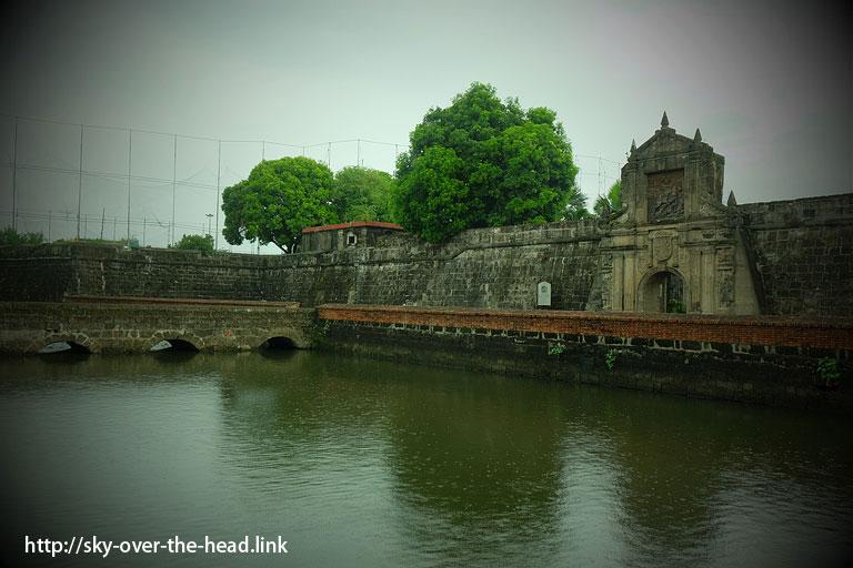 メインゲート|サンチャゴ要塞(フィリピン)/Fort Santiago (Philippines)