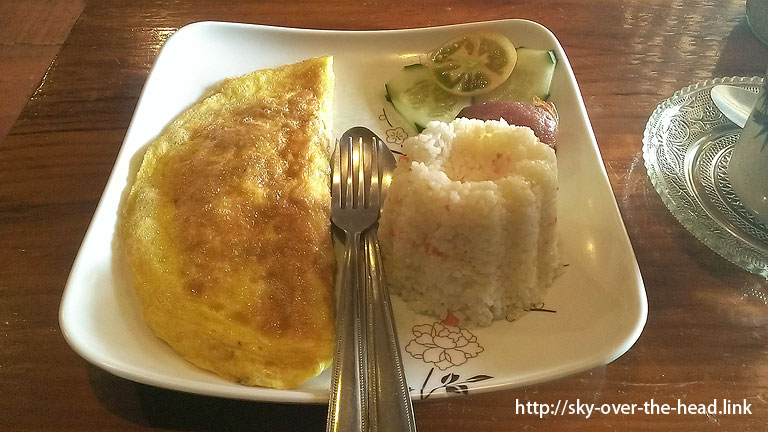 朝ご飯@The Sagada Lemon Pie House