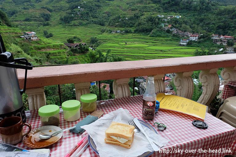 サンドイッチ@フィリピンで食した【リアルな】食事@バナウェ