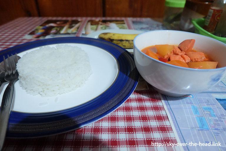 フィリピンで食した【リアルな】食事@バナウェ