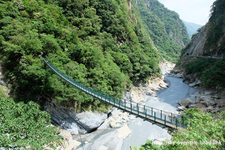 吊り橋@太魯閣峡谷(台湾)/Taroko Gorge (Taiwan)