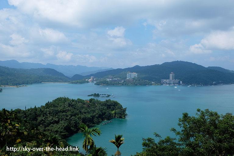玄奘寺@日月潭を半周サイクリング(台湾)/Half the Sun Moon Lake cycling (Taiwan)