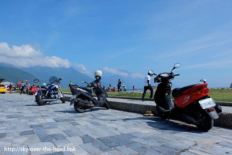 台湾のレンタルバイク