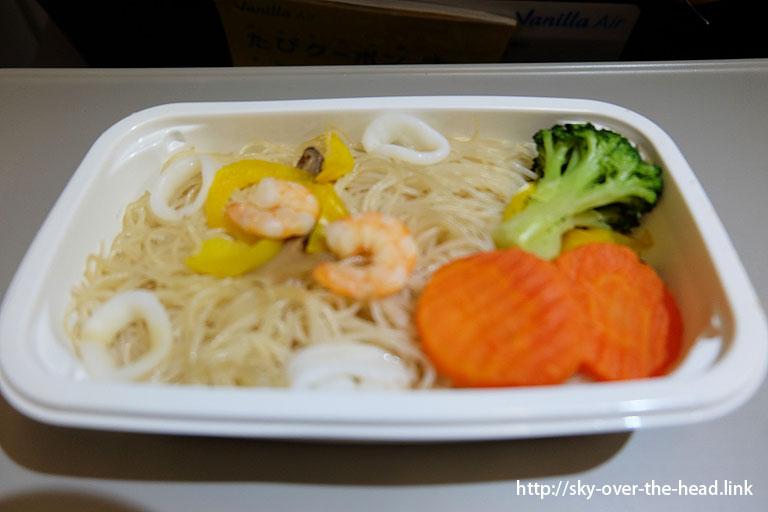 海鮮ビーフン@バニラエアの機内食