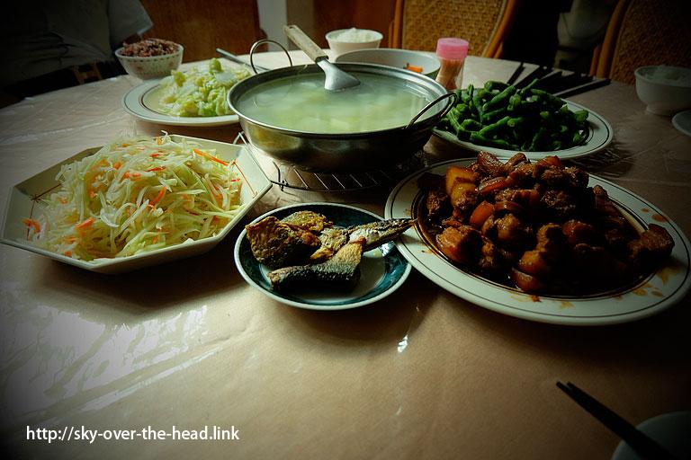 烏來の家庭料理