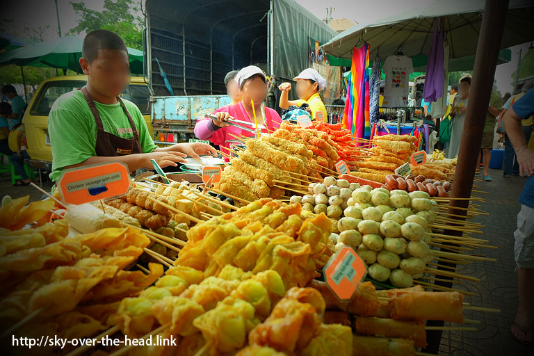 ワットポー(タイ)/Wat Pho(Thailand) 付近の屋台