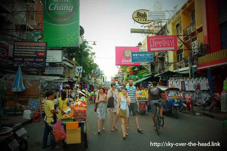 カオサン通り(タイ)/Khao San Road ( Thailand )