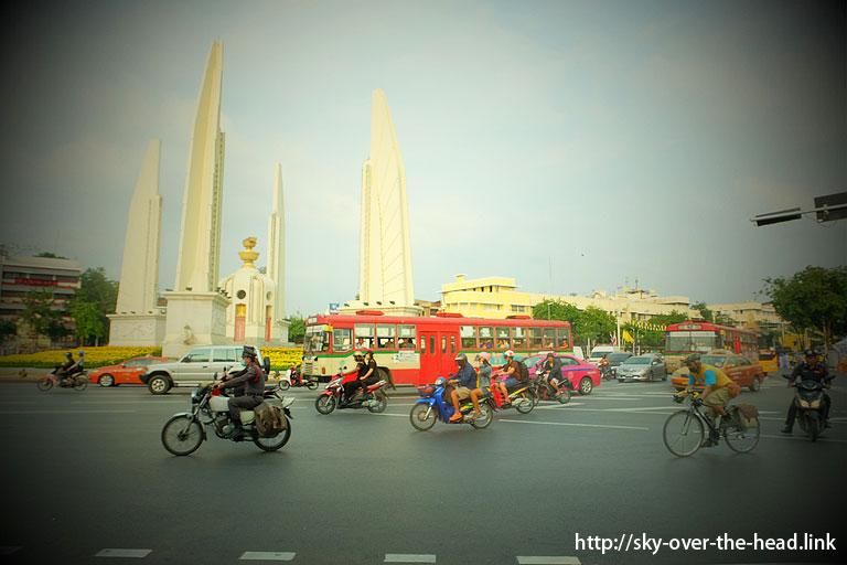 民主記念塔(タイ)/Democracy Monument ( Thailand )