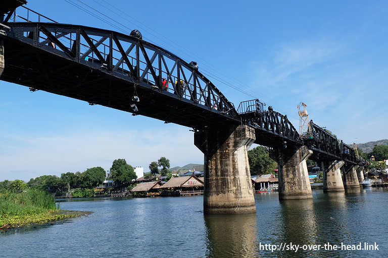 クウェー川鉄橋【昼編】(タイ)/The Bridge Over River Kwai(Thailand)