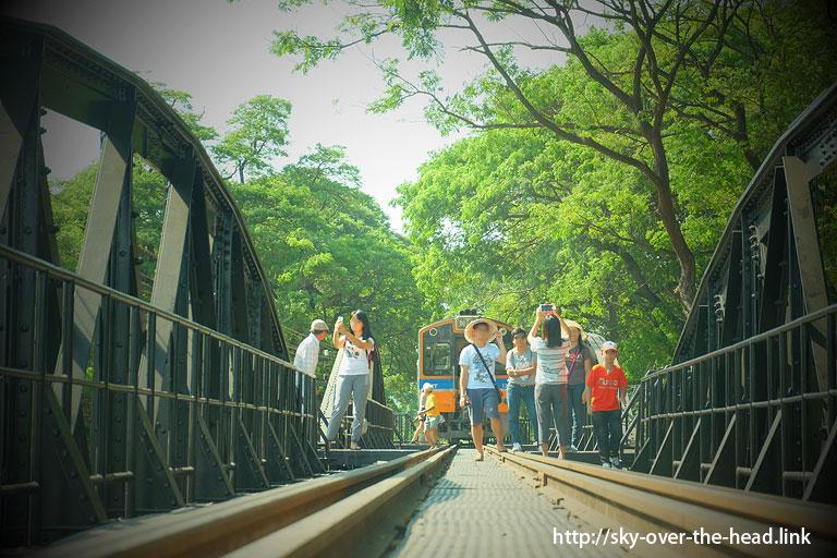 クウェー川鉄橋【昼編】(タイ)/The Bridge Over River Kwai(Thailand)