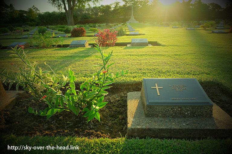 チョンカイ共同墓地(タイ)/The Chong-Kai War Cemetery(Thailand)