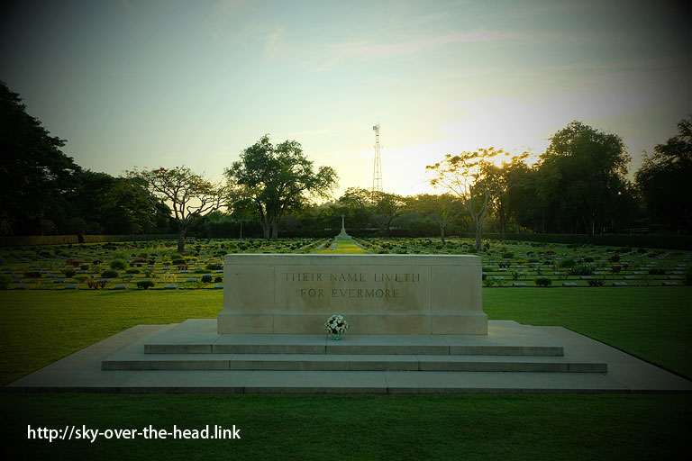 チョンカイ共同墓地(タイ)/The Chong-Kai War Cemetery(Thailand)