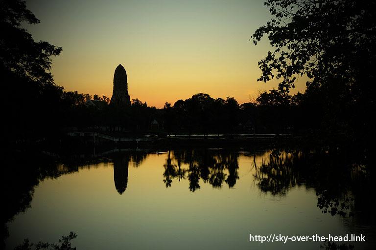Rama Public Parkの夕暮れ