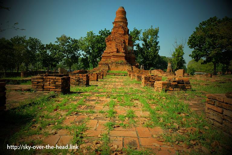 タイの古都!アユタヤ遺跡を入場料なしで楽しむ方法