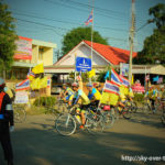 Bike for Dad in Sukhothai(タイの自転車イベント)