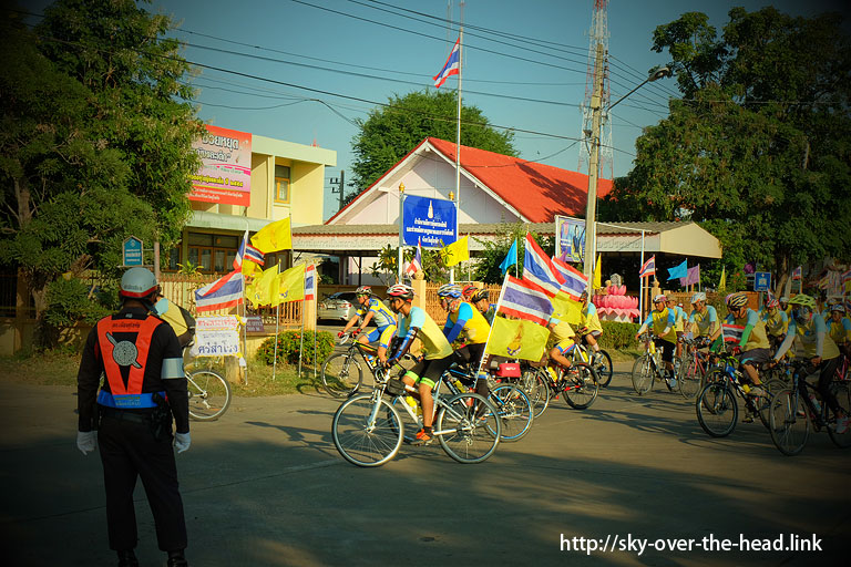 Bike for Dad in Sukhothai(タイの自転車イベント)