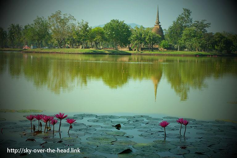 ワット・サー・シー(スコータイ/タイ)/Wat Sa Si(Sukhothai / Thailand)