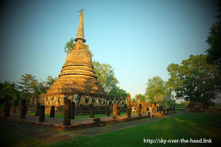 ワット・チャン・ローム(スコータイ/タイ)/Wat Chang Lom (Sukhothai / Thailand)