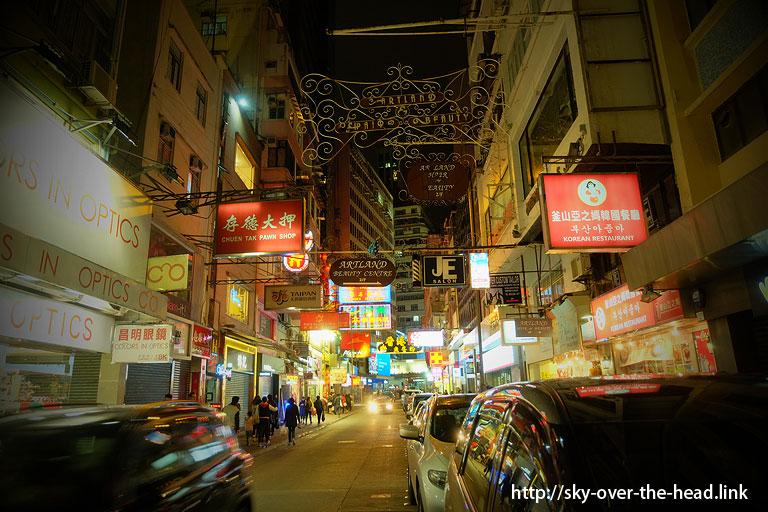 シンフォニー・オブ・ライツへ(香港)/To Symphony of Lights (Hong Kong)
