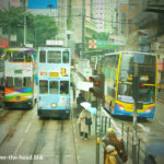 トラムで香港観光(香港)/ Hong Kong tourism by tram(Hong Kong)
