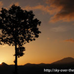 阿里山でご来光(日の出)