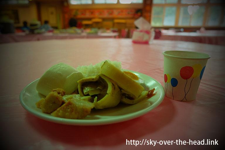 朝ご飯@阿里山