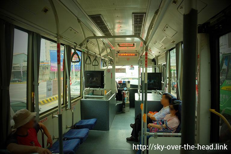 BRTに乗って嘉義駅へ