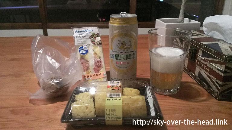 台湾ファミマの「コンビニ夜食」