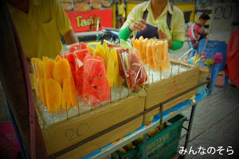 【4食目】熟したフルーツ@タイ/バンコク