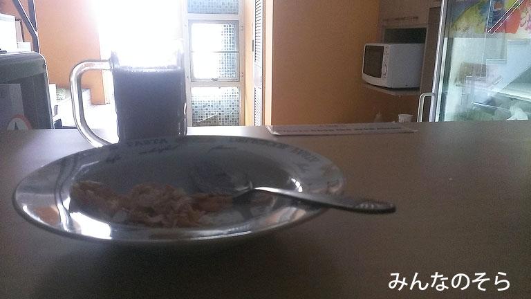 【3食目】ゲストハウスの朝食@タイ/バンコク