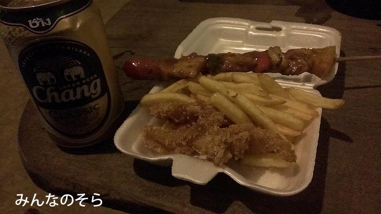 【7食目】お祭りの屋台でテイクアウト@タイ/カンチャナブリー