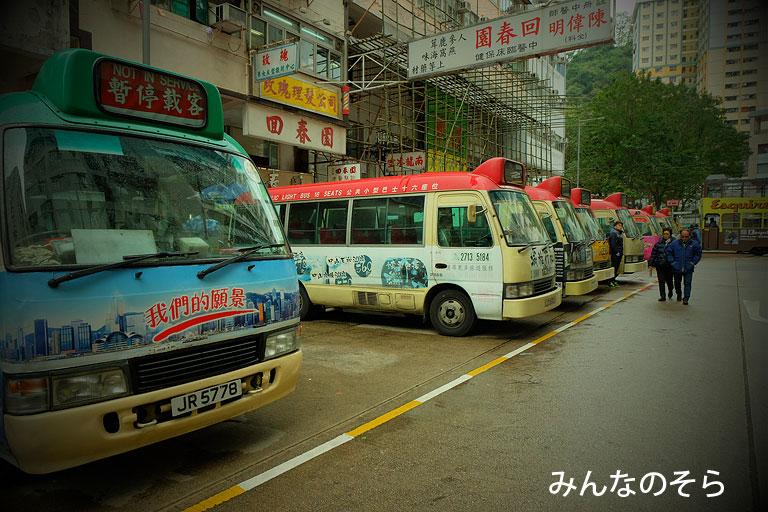 ミニバス@香港で乗り物観光【11選】