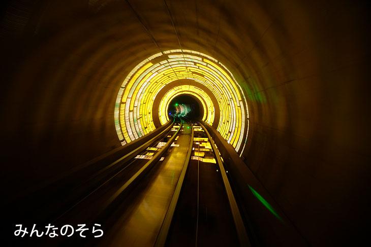 外灘観光トンネル@上海