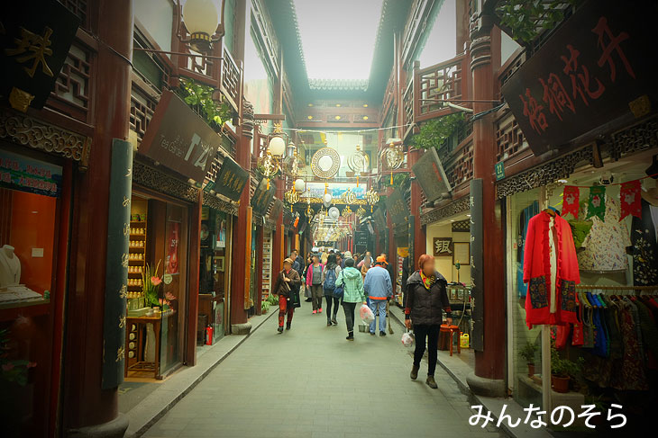 豫園老街@上海