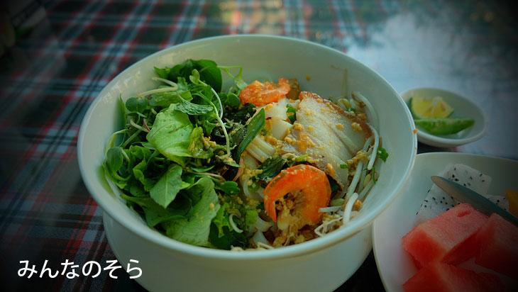 ミークアン(Mi Quang)@べトナム中部の料理