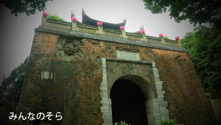 タンロン遺跡ハノイ【午後から3時間半】観光(べトナム)