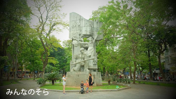 歩くだけで楽しい!べトナムの街角@ハノイ【午後から3時間半】観光(べトナム)